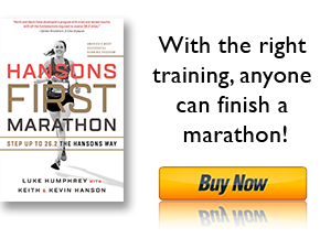 Hansons First Marathon - Pre Order today!